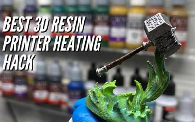 How To Heat Your 3D Resin Printer To Avoid Failed Prints In Winter