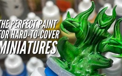 Vallejo Ink – Perfect Paint For Miniatures That Need Better Paint & Color Coverage